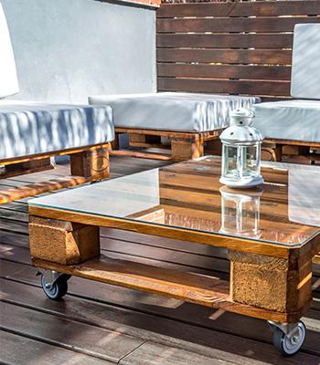 Palets muebles y decoración